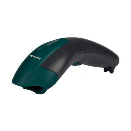Barcodescanner kabellos, Metapace S-3, 1D, Kit (USB), schwarz